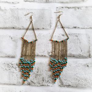 Bohemian Festival dangle earrings